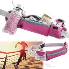 Harga Olahraga Biliar Menjalankan Belt Pinggang F*nny Pack Berkemah Kantong Ritsleting Tas Botol Dengan Pemegang Bangkit Merah Oem Original