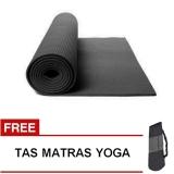 Harga Oranyejersey Matras Yoga Mat Flexflit 6Mm Hitam Tas Yang Murah Dan Bagus