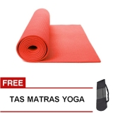Top 10 Oranyejersey Matras Yoga Mat Flexflit 6Mm Merah Muda Tas Online