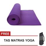 Perbandingan Harga Oranyejersey Matras Yoga Mat Flexflit 6Mm Ungu Tua Tas Di Jawa Barat