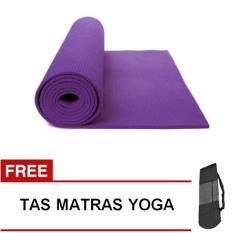 Jual Oranyejersey Matras Yoga Mat Flexflit 6Mm Ungu Tua Tas Murah Jawa Barat