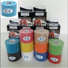 Diskon Original Kinesio Tape Kinesiology Tape For Sport Theraphy Biru Muda