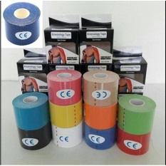 Spesifikasi Original Kinesio Tape Kinesiology Tape For Sport Theraphy Biru Tua Oem