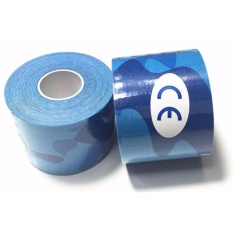 Original Kinesio Tape Kinesiology Tape For Sport Theraphy Camo Army Blue Oem Diskon
