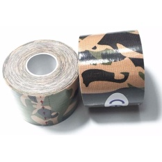 Toko Original Kinesio Tape Kinesiology Tape For Sport Theraphy Camo Army Green Termurah