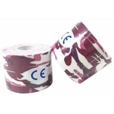 Ulasan Tentang Original Kinesio Tape Kinesiology Tape For Sport Theraphy Camo Army Pink