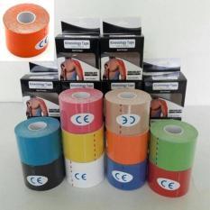 Toko Original Kinesio Tape Kinesiology Tape For Sport Theraphy Oranye Di Jawa Barat