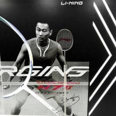 Original Lining N 7 Ii Raket Badminton Free String Bag And Apparel - A75759
