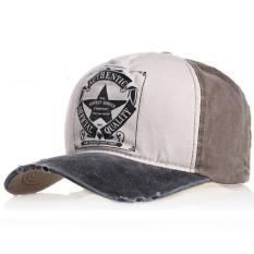 Ormano Topi Baseball Snapback Cap Perfect Service - Cokelat