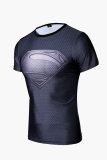 Diskon Superman Logo Man Kemeja Kompresi Perbedaan Abu Abu Akhir Tahun