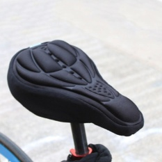 Outdoor 3d Sepeda Bersepeda Soft Silicone Bike Seat Cover Cushion (hitam)-Intl By Rainbowonline