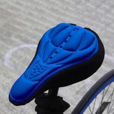 Outdoor 3d Bersepeda Lembut Silikon Sepeda Sarung Penutup Jok Motor Bantal (biru)-Intl By Rainbowonline.