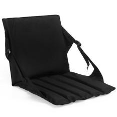 Outdoor Activity Pad Portable Stool Mat Waterproof Lipat Cushion untuk Berkemah Memancing Hiking Warna: Hitam-Intl