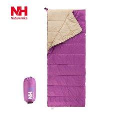 Situs Review Outdoor Camping Ultralight Sleeping Bag Ungu