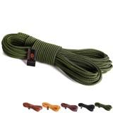 Jual Peralatan Panjat Tebing 8Mm Nilon Tali Statis 16Kn Mountaineering Rappelling Fire Escape Rope Armygreen 10 M Intl Satu Set