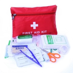 Review Outdoor Home Survival First Aid Kit Dalam Perjalanan Berkemah Tas Medis Tiongkok