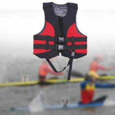 Beli Outdoor Life Vest Water Sports Jacket Buoyancy Aid Swimming Fishing With Whistle Intl Oem Dengan Harga Terjangkau