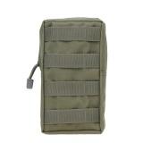 Toko Outdoor Militer Penggemar Zipper Bag Paket Taktis Kantong Pinggang Pouch Hijau Intl Lengkap