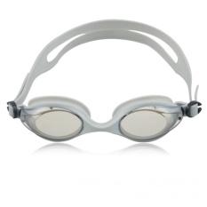 Kolam Optik Korektif UV Perlindungan Anti-kabut Lensa PVC-Fleksibel Jembatan Hidung-Dijamin Tidak Bocor Mirrored Silicone Seal Watertight Berenang Renang Goggles/masker dan Premium Goggles Case (Biru) -Intl