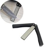 Spesifikasi Outdoor Lipat Mengasah Sisi Dilipat Pocket Sharpener Penajam Berlian Batu Internasional Merk Not Specified