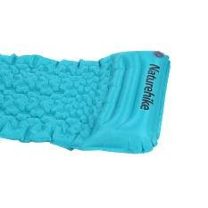 Outdoor Sleeping Pad Dengan Bantal Moisture-Proof Air Mat Sleeping Mat (biru Laut) By Rubikcube.