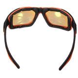 Beli Olahraga Luar Ruangan Bersepeda Sepeda Naik Sepeda Kacamata Matahari Eyewear Melotot Uv400 Lensa Hitam Bingkai Kuning Lensa Dengan Kartu Kredit