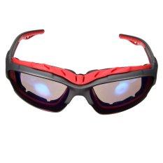 Jual Olahraga Luar Ruangan Bersepeda Sepeda Naik Sepeda Kacamata Matahari Eyewear Melotot Uv400 Lensa Merah Bingkai Biru Lensa Murah Di Hong Kong Sar Tiongkok