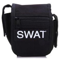Jual Outdoor Tactical Pocket Kecil Square Penggemar Militer Tool Bag Mobile Pouch Dengan Oxford Kain Tahan Air Hitam Intl Intl Grosir