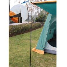 Spesifikasi Outdoor Tenda Tiang 2 Pcs Besi Galvanis Pipa Tenda Bar Rods Intl Murah Berkualitas