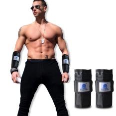 Pair 5-7 Kg Adjustable Hand Wrist Lengan Berat Gym Latihan Tinju Latihan Zooboo-