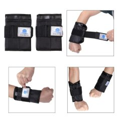 Pair 5-7Kg Adjustable Lengan Pergelangan Tangan Berat Gym Latihan Tinju Pelatihan Zooboo-Intl