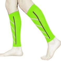 Pair Betis Penopang Kompresi Leg Lengan Olahraga Shin Splint Outdoor Latihan-Intl