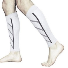 Pair Betis Dukungan Kompresi Kaki Lengan Olahraga Kaus Kaki Shin Splint Outdoor Bungkus-Internasional