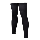 Jual Pair Of Sports Football Basketball Cycling Strech Leg Knee Long Sleeves Size Xxl Black Online Tiongkok
