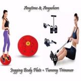 Jual Paket Alat Fitnes Tummy Trimmer Nikita Jogging Magnetic Trimmer Body Plate Antik