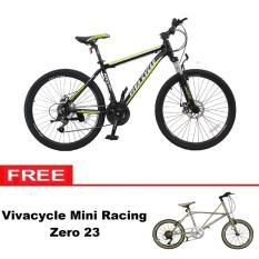 Paket Bundling Sepeda MTB Vivacycle Apex 660 21Sp + Mini racing Zero 23 - Khusus JADETABEK