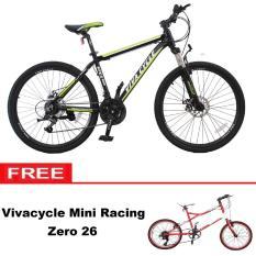 Paket Bundling Sepeda MTB Vivacycle Apex 660 21Sp + Mini racing Zero 26 7Sp - Khusus JADETABEK