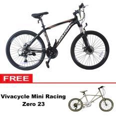 Paket Bundling Sepeda MTB Vivacycle Exposed 660E 21Sp + Mini racing Zero 23 - Khusus JADETABEK