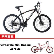 Paket Bundling Sepeda MTB Vivacycle Exposed 660E 21Sp + Mini racing Zero 26 - Khusus JADETABEK
