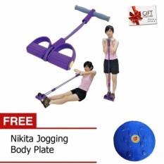 Paket Olahraga Gratis Ongkir - Alat Pembentuk Tubuh Body Trimmer Dan Jogging Body Plate 1 Set