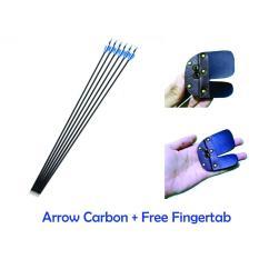 Toko Paket Hemat Carbon Arrow High Quality Anak Panah Cocok Untuk Latihan Panahan Isi 6 Buah Bonus Fingertab Online Terpercaya