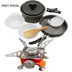 Harga Paket Spesial Cooking Ds 200 Kompor Kotak Set Branded