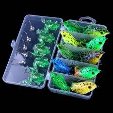 Palight 21 Pcs Lembut Tabung Plastik Fishing Lures Buatan Frog Lure Crankbait Topwater Baits Crankbait Intl Terbaru