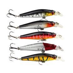 PALIGHT 5 Buah Tiruan Ikan Kecil Ikan Umpan Penangkapan Ikan Kait