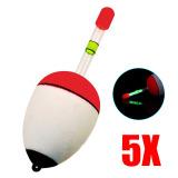 Jual Palight 5 Pcs Set Dapat Memasukkan Pelampung Memancing Bercahaya Stick 60G Intl Palight Online