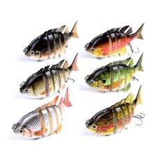 Jual Palight 8 Cm 14G Panfish Multi Jointed Bass Fishing Lure Umpan Buatan Crankbait Treble Kait Internasional Ori