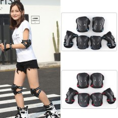 PALIGHT Dewasa/Anak ICE-skating Knee Pads Elbow Pads Wrist Guards Protective Gear Set (Ukuran: S)-Intl