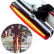 Harga Palight Bike Tail Light Usb Rechargeable Led Flashlight Intl Palight Asli