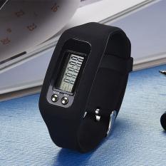PALIGHT Digital LCD Alat Pengukur Run Langkah Berjalan Jarak Kalori Counter Pemotong Ujung Distal-I
