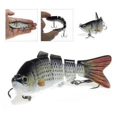 Harga Palight Fishing Lure 6 Segmen Swimbait Crankbait Hard Bait Slow 17G 10 Cm Dengan 6 Fishing Hook Intl Palight Asli